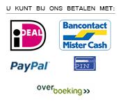 Betaalmethoden, Autostoelhoezen.nl