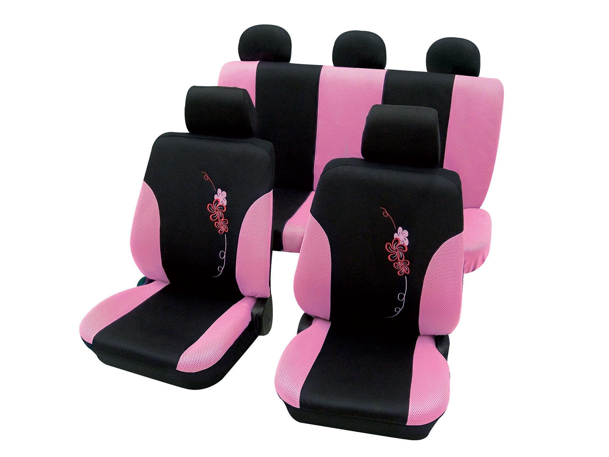 Auto stoelhoezen roze
