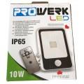 Led wandlamp met sensor dag/nacht Prowerk 10W - IP65 inclusief afstandsbediening