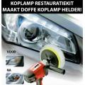 Koplamp restauratie kit - maak uw doffe koplampen weer helder (complete set alles inbegrepen)