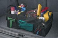 Organizer voor de kofferruimte, 62x33 cm, zwart