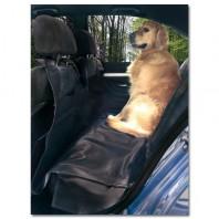 DOGBED Hondenbeschermhoes voor de ACHTERBANK van skai-leder